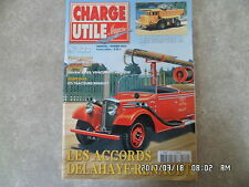 CHARGE UTILE N°122 02/2003 ACCORDS DELAHAYE RENAULT DUMPERS IH CAVADA  K42