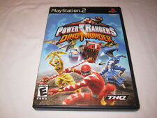 Power Rangers: Dino Thunder (Playstation PS2) Black Label Complete Excellent!