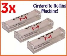 3x KING SIZE Zig Zag Automatic Cigarette Cig Tobacco Rolling Roller Machine UK