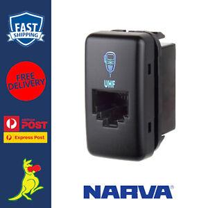 Narva UHF Radio Mic Socket fits Toyota Prado 120 Series Landcruiser 2003 to 2019