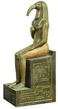 Cleopatra set piece with seated figure with Ibis head. Lot 911