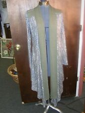 Wendy Glez  robe Size Small  greens purple  New With Tag - size S (but ample)