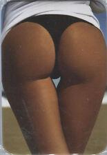 Novelty Fridge Magnet  ~ Black Bikini Bottom ~  Secret Santa / Stocking Filler