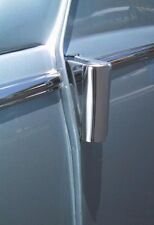 Hinge covers for VW Beetle BUG Type 1 DELUXE polished stainless steel AAC013