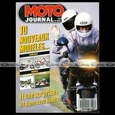 MOTO JOURNAL N°813 ★ HONDA RC 30 VFR 750 R ★ YAMAHA FJ 1200 125 DTR XV 535 1987