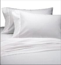 2 NEW WHITE T210 PILLOWCASE HEALTHCARE HOTEL RESORT SPA MOTEL CASES 100% COTTON