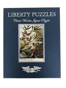 Liberty Puzzles Hummingbirds (Complete, Mint Condition)