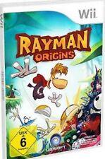 NINTENDO Wii +Wii U RAYMAN ORIGINS DEUTSCH OVP Sehr guter Zustand