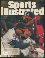 Greg Maddux Signed Sports Illustrated Cover