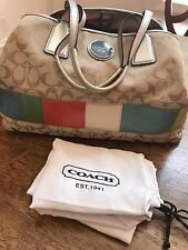 Pre-owned beige and striped Coach bag #A1176-F17444