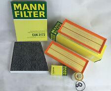 Mann-Filter Filtro Set Filtro dell'olio Carbone Attivo Filtro aria MERCEDES w211 e500 225 KW