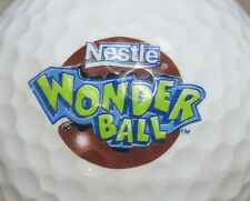 (1) NESTLE WONDER BALL LOGO GOLF BALL