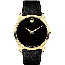 Men's Gold Plated Case Quartz (Battery) Analogue Watches