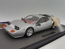 "TOP Marques TM12-09C # Ferrari 512 BBi Baujahr 1978 "" silbermetallic "" 1:12 NEU"