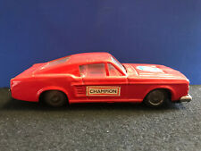 Vtg Clover Toy Red Car Champion Mustang Coupe #56