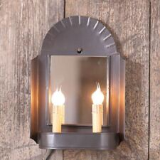 Innkeeper's Sconce in Smokey Black Wall Fireplace Electric Home Decor Lighting