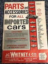 Parts and Accessories for ALL Imported Cars - J.C. Whitney & Co. - 1969