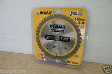 DEWALT DT1950 (DT1206) 165MM X 20MM BORE 36T TCT SAW BLADE DC390 DCS391