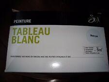 KIT COMPLET PEINTURE TABLEAU BLANC IDESTYL NEUF POUR 5 M2