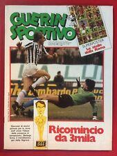 GUERIN SPORTIVO 1983/15 , MAXI Poster ROMA , VASCO ROSSI , MATIA BAZAR