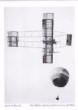 """""""Altitude Record"""" (World Record-4,165 Feet) @ *LA Inter'l Air Meet ('Postcard')"""