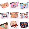 Cartoon Makeup Travel Organizer Cosmetic Toiletry Zip Storage Bag Case Pouch