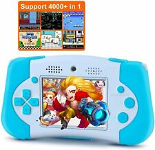 KIDS DIGITAL CAMERA CAMCORDER GAMES CONSOLE & MP3 PLAYER WITH 8GB SD CARD, BLUE