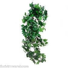 Seta Artificiale Edera Pianta Traliccio Scuro Verde Grandezza Media Foglia 80cm