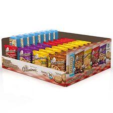 Grandma's Cookies Variety Chocolate Brownies Chips Peanut Butter Oatmeal Pack 36