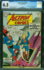 Action Comics #252 CGC 6.5 DC 1959 1st Supergirl! Superman! L12 129 cm cr