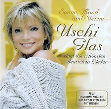 USCHI GLAS : SONNE, MOND UND STERNE / 2 CD-SET - TOP-ZUSTAND