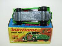 Matchbox Superfast No 43 Dragon Wheels UNPAINTED BASE VNMIB RARE