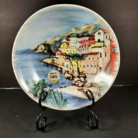 Ceramica Cuore~Set of 3 Pasta, Soup, Salad, Serving Bowls ~Seaside Village ~ NEW
