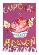 Julia Junkin Design for PHI Cotton Kitchen Tea Towel Cupcake Heaven - NEW