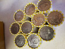 20 Bank Wrapped Rolls of Kennedy Half Dollars. Unsearched $200 Face Value