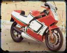 Bimota Yb5 87 A4 Metal Sign Motorbike Vintage Aged