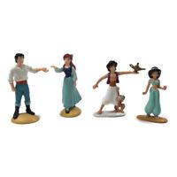 Vintage Disney Figurines Aladdin & Jasmine Ariel & Prince Eric Figures