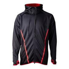 ASSASSIN'S CREED Odyssey Technical Hexagonal Hoodie Medium Black/Red