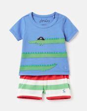 Joules Baby Boys Wave Applique Set  - Blue Crocodile