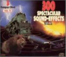 3 Cass Set : 300 Spectacular Sound Effects CD Expertly Refurbished Product