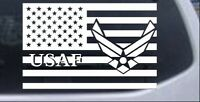 US American Flag Air Force USAF Car or Truck Window Laptop Decal Sticker