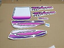 Gilera Typhoon 50cc kit adesivi grafiche  decalcomanie scritte  rosa fucsia 90'