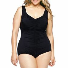 1a59aa07b45f2 Azul By Maxine of Hollywood Shirred-Front 1-pc. swimsuit