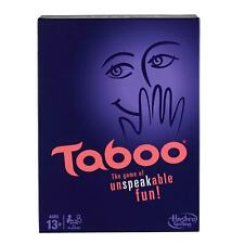Taboo Classic Board Game Guessing Words Phrases Fast-Paced Hasbro DEALS