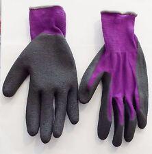 Grip Palm Fishing Gloves Purple, Garden Gloves, Girls, Women