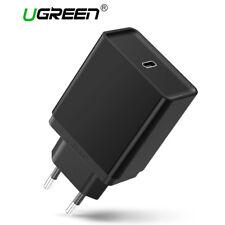 Ugreen USB 3.1 Type C Chargeur USB C PD Adaptateur Secteur 30W pour Macbook LG