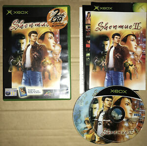Shenmue II (2) (Includes Movie Disc) / Complete / Original Xbox / Tested / PAL
