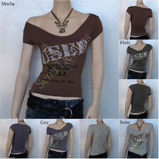 V Neck Patternless Casual Other Women's Tops