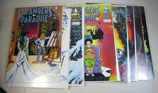 Lot Comics Terry Moore STRANGERS IN PARADISE v1 #1 (2nd) 2 3 4 5 6 7 8 Abstract