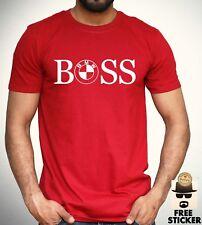 BMW  BOSS T shirt Car Racing F1 Performance Mpower Sports Fashion Adult Kids Tee